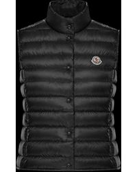 moncler liane gilet in black