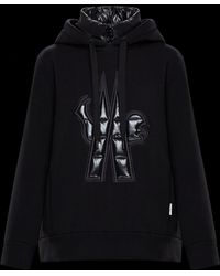 Moncler Grenoble - Hooded Sweatshirt With Logo - Lyst