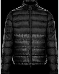 d9b099314718 Lyst - Moncler Aimar Hooded Puffer Jacket in Black for Men