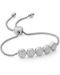 Monica Vinader - Fiji Diamond Chain Bracelet - Lyst
