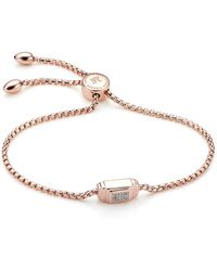 Monica Vinader - Baja Deco Diamond Bracelet - Lyst