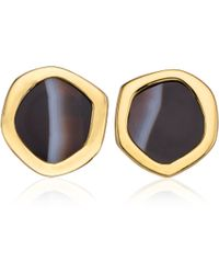Monica Vinader - Atlantis Gem Mini Stud Earrings - Lyst