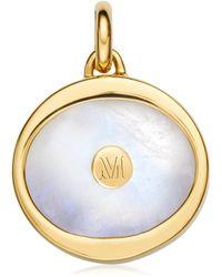 Monica Vinader - Atlantis Evil Eye Pendant Charm - Lyst