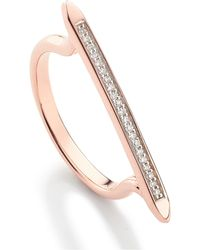 Monica Vinader - Skinny Stacking Ring - Lyst