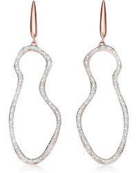 Monica Vinader - Riva Pod Cocktail Earrings - Lyst