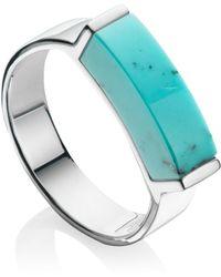 Monica Vinader - Linear Stone Ring - Lyst