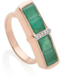 Monica Vinader - Baja Precious Ring - Lyst