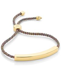 Monica Vinader - Linear Large Friendship Bracelet - Lyst