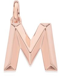Monica Vinader - Alphabet Pendant M - Lyst