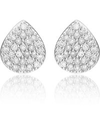 Monica Vinader - Alma Stud Earrings - Lyst