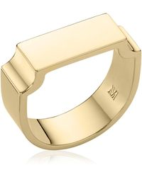 Monica Vinader | Signature Wide Ring | Lyst