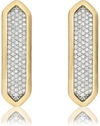 Monica Vinader - Baja Long Stud Earrings - Lyst