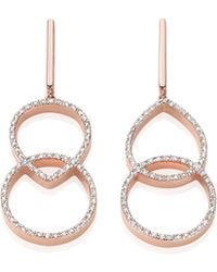 Monica Vinader - Naida Kiss Open Cocktail Earrings - Lyst