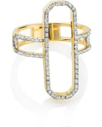 Monica Vinader - Naida Cocktail Ring - Lyst