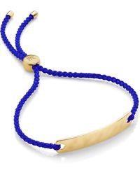 Monica Vinader - Fiji Friendship Bracelet - Lyst
