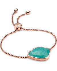Monica Vinader Siren Nugget Cocktail Friendship Chain Bracelet - Multicolour