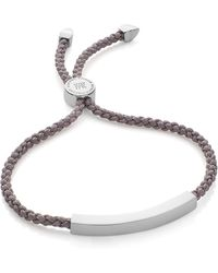 Monica Vinader | Linear Friendship Bracelet | Lyst