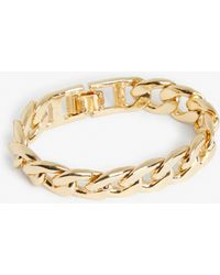 Monki - Curb Chain Bracelet - Lyst