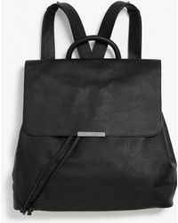 Monki - Pleather Backpack - Lyst