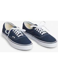 Madewell Vans® Sk8-Hi Slim Zip High-Top Sneakers In Navy Leather in ... d1adb69e2