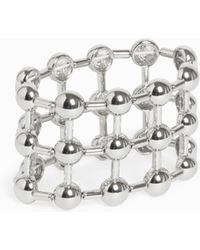 Monki | Statement Bracelet Silver | Lyst