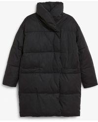 Monki - Oversized Puffer Coat - Lyst