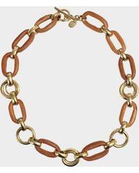 Aris Geldis - Wood Necklace - Lyst