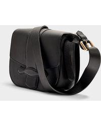 Vanessa Bruno - Gemma Medium Crossbody Bag In Black Calfskin - Lyst