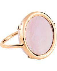 Ginette NY | Ever Pink Mop Disc Ring | Lyst