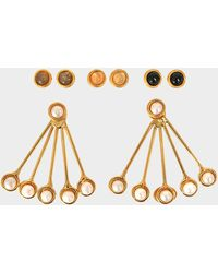 Sylvia Toledano - Les Infidèles Ear Jacket Set Of Earrings - Lyst
