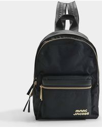 Marc Jacobs - Medium Backpack In Black Polyester - Lyst