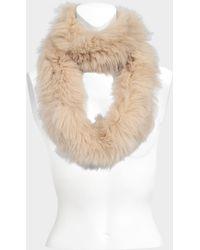 Yves Salomon - Knitted Fox Scarf - Lyst