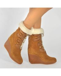 Chloé Foster Sherling Boot
