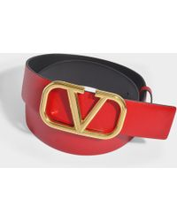 Valentino - Garavani Go Logo Belt - Lyst