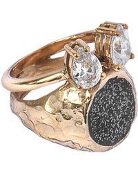 Voodoo Jewels   Sigillum Ring With Drops   Lyst