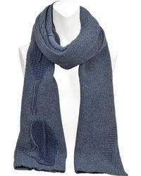 Olina S Patch wool-blend scarf Acne Studios Kslka33y