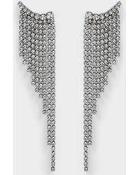 Helene Zubeldia - Crystals Cascade Earrings - Lyst