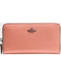 COACH - Accordion Zip Wallet - Lyst