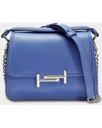 Tod's - Double T Small Messenger Bag - Lyst