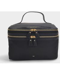 Anya Hindmarch - Vanity Kit In Black Nylon With Capra Trim - Lyst