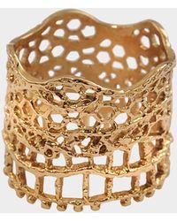 Aurelie Bidermann - Vintage Lace Ring - Lyst