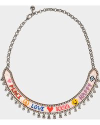 Shourouk - Happy Love Necklace - Lyst