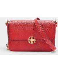 b0d7bc29bc7 Tory Burch - Chelsea Crossbody Bag In Red Calfskin - Lyst