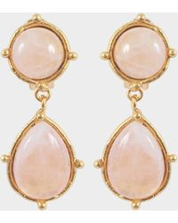 Sylvia Toledano - Two Dots Earrings - Lyst