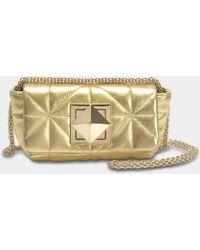 Sonia Rykiel - Le Copain Mini Bag In Grained Leather - Lyst