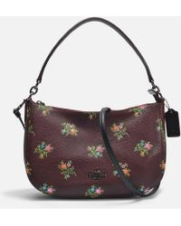 Chelsea Crossbody Bag in Oxblood Cross Stitch Floral Calfskin Coach Sale Cheapest Price Outlet Ebay Discount Brand New Unisex lPwUEUH