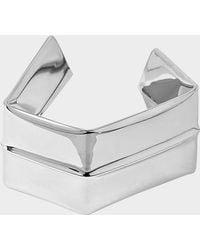 Proenza Schouler - Large Square Bracelet Brass - Lyst