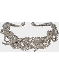 Roberto Cavalli - Metal Swar Necklace Octopus - Lyst