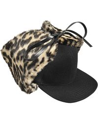 Stella McCartney - Leopard Hat - Lyst