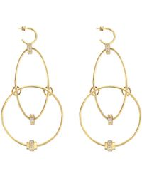 Joanna Laura Constantine - Wire Statement Earrings - Lyst